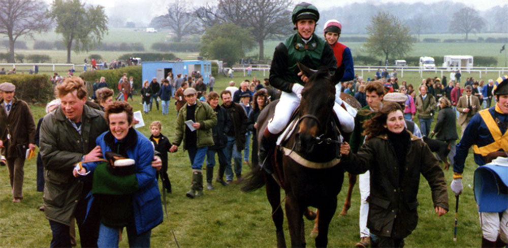 Annette and Turn Mill after winning the Lady Dudley Cup